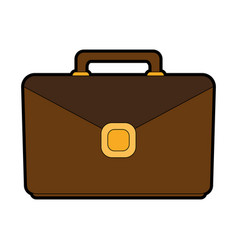 Business briefcase icon image vector