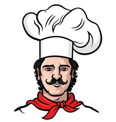 Chef cook man vector