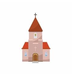 Church icon in cartoon style vector image
