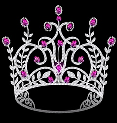 Gem Crown vector image