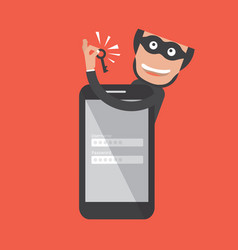 Hacker breaks into smartphone data theft vector