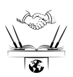 The diplomacy vector