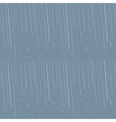 Rain drops pattern vector image