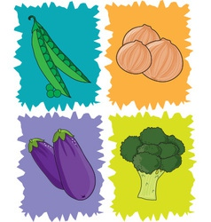 Veggies vector