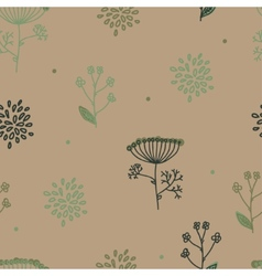Elegance Seamless pattern with flowers Ukraine vector image vector image
