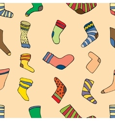 socks set vector image vector image