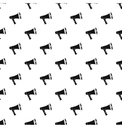 Loudspeaker pattern simple style vector