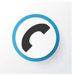 call icon symbol premium quality isolated phone vector image