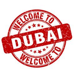 Welcome to dubai vector