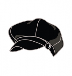 Fashion hat vector