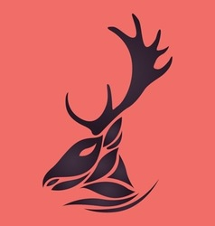Deer logo vector