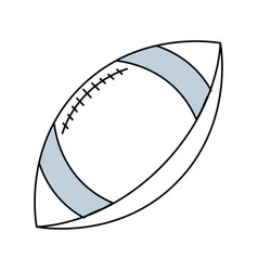 American football sport ball vector