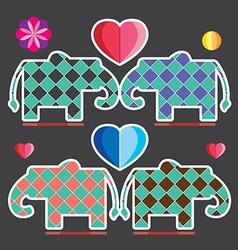Elephant graphic vector