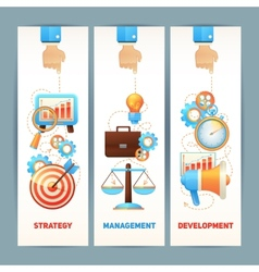 SEO banners set vector image vector image