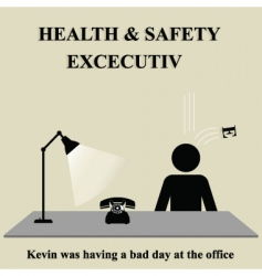 health safety sign vector image