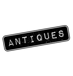Antiques rubber stamp vector