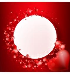 Valentine Hearts Background  EPS10 vector image