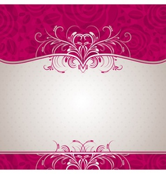 Valentine background with many roses vector