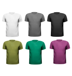 men t-shirts Design vector image vector image
