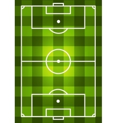 Soccer field background vector