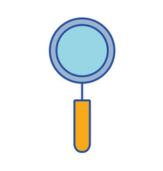 Magnifying glass tool to explore vector