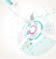 Abstract futuristic business background vector