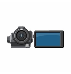 Digital video camera icon cartoon style vector