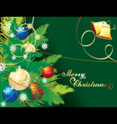 background for Christmas vector image vector image