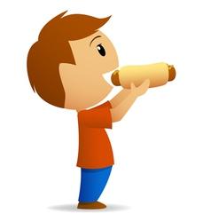 hotdog vector image vector image