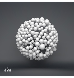 Sphere 3d template technology style vector