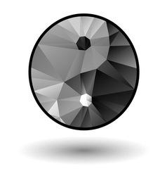 Yin Yang icon vector image