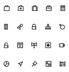 Apple Watch Icons 12 vector image