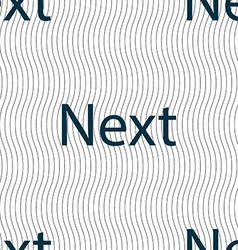 Next sign icon navigation symbol seamless pattern vector