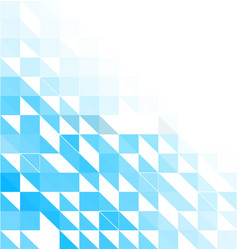Blue mosaic background creative design templates vector