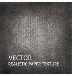 Dark grey craft paper background vector image