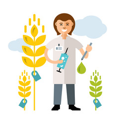 Plant breeding genetic engineering vector