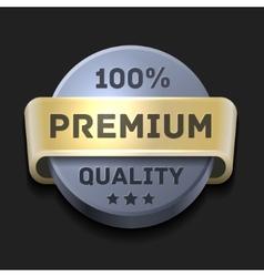 Premium quality 100 label vector