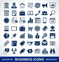 Smple business icons vector