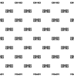Classic boombox pattern simple style vector