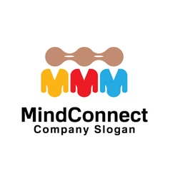 Connect mind design vector