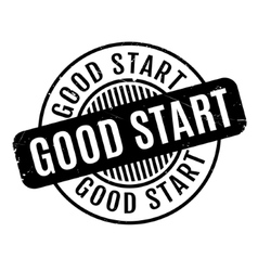 Good start rubber stamp vector