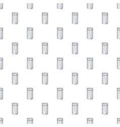 Home trash pattern cartoon style vector