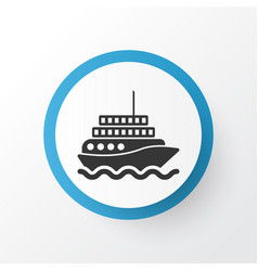 motor ship icon symbol premium quality isolated vector image vector image