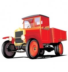 retro truck vector image