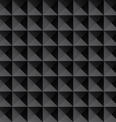 triangle black texture seamless background vector image vector image
