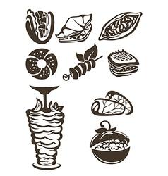 Turkish food vector