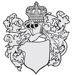 Aristocratic emblem no30 vector