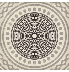 Asian mandala background vector image vector image
