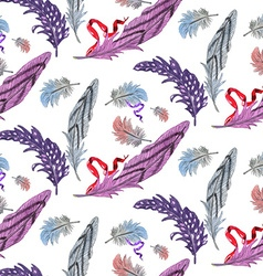 Feather pattern2 vector