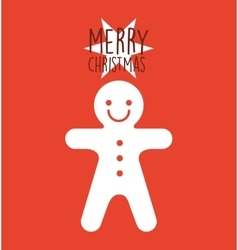 Happy merry christmas character vector